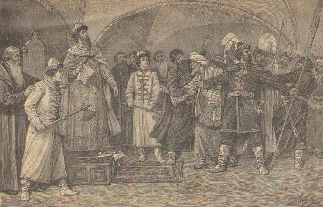Иоанн III отказывается платить дань хану