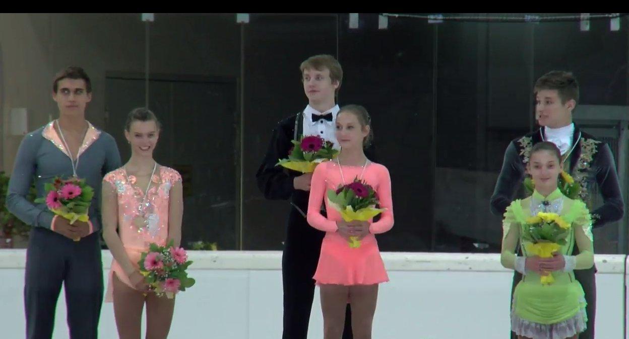 4 Jgp Linz Pairs Medals