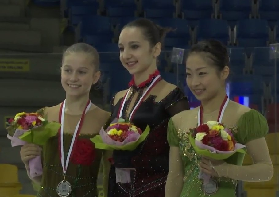 5 JGP Poland Ladies award
