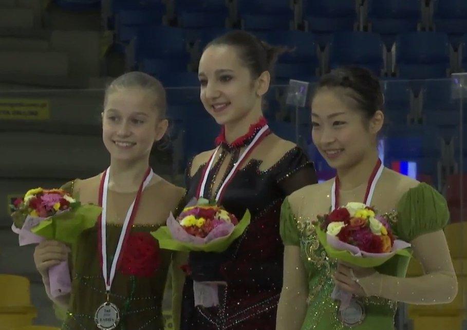 5 JGP Poland Ladies award