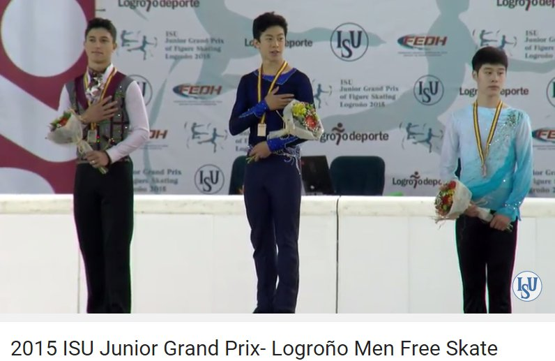 6 JGP Spain men medals