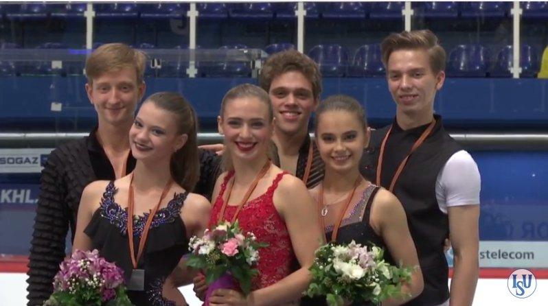 7 JGP Zagreb DAnce Medals