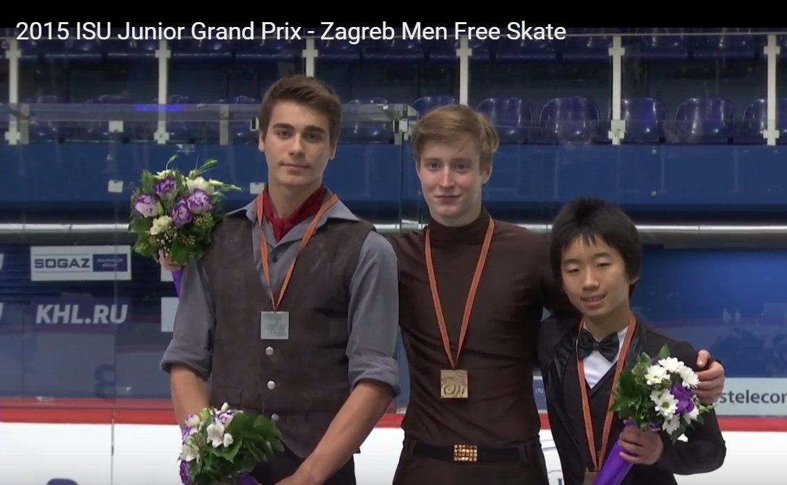 7 JGP Zagreb Men Medals