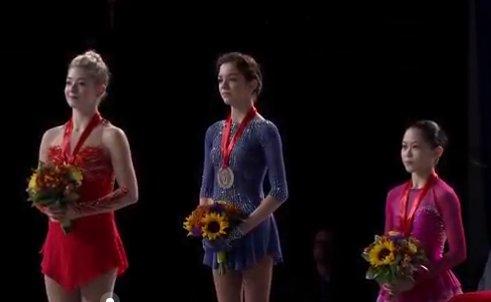 1 USA Ladies Medals