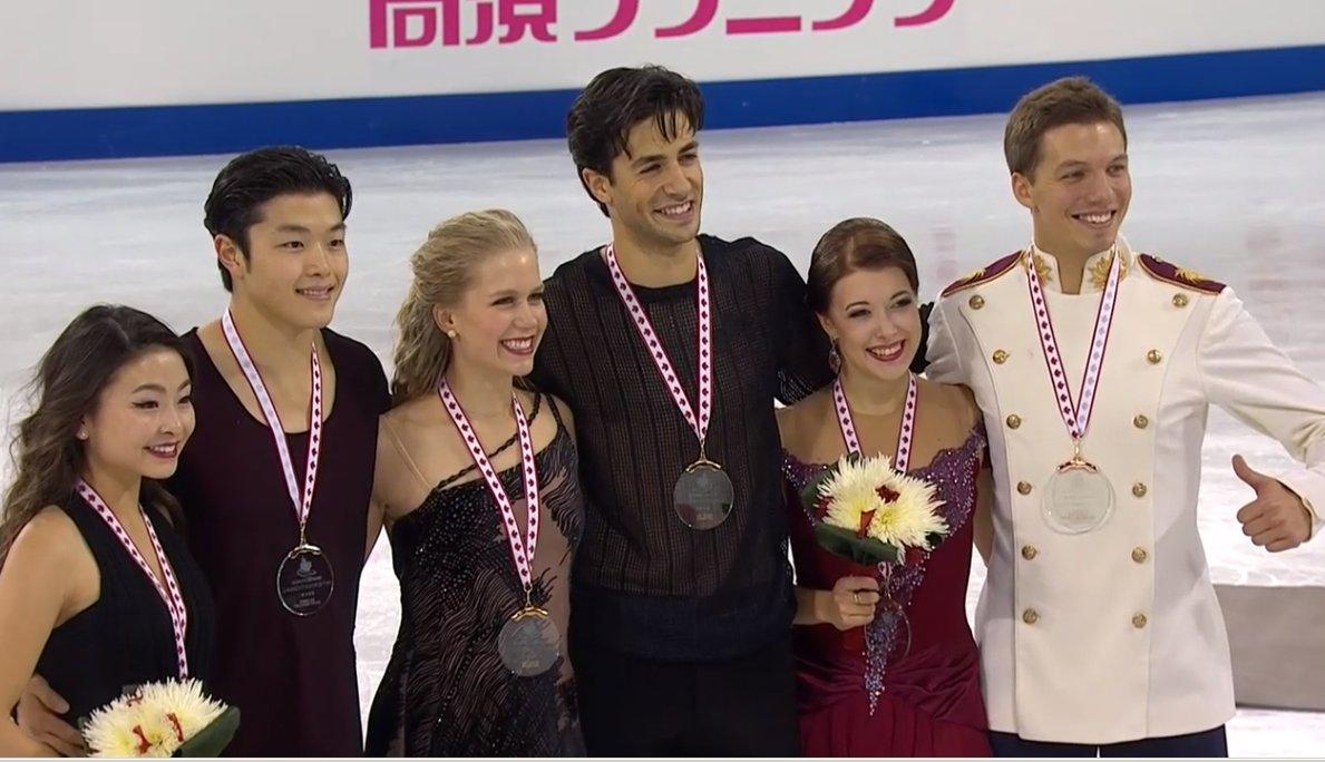 2 Canada GP Medals Dance 1