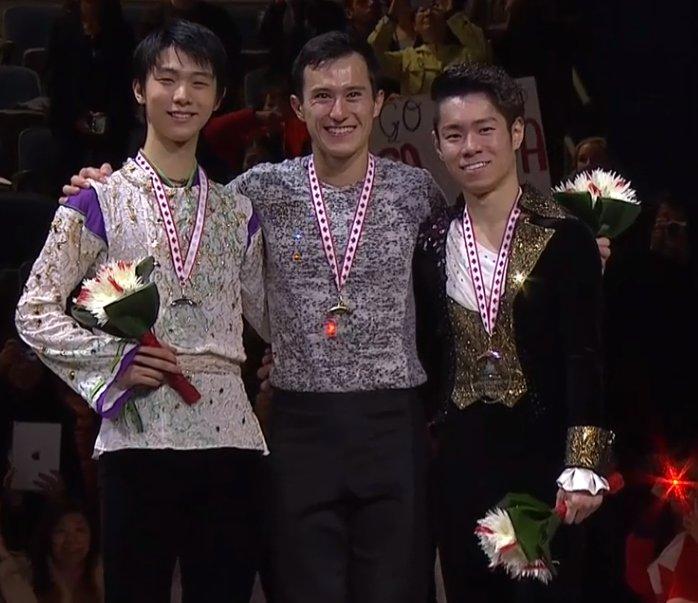 2 Canada GP Men Medals
